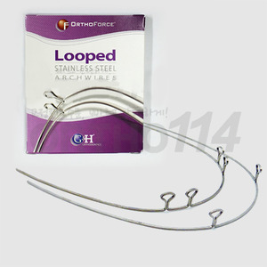 SS Keyhole 2 Loop Wire(1pkg/10ea)G&H